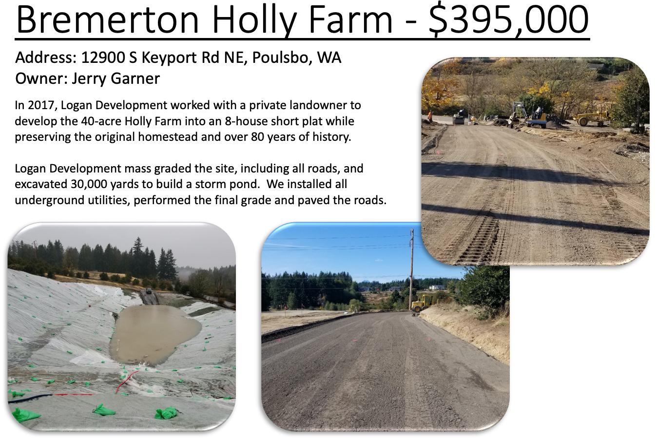 Bremerton Holly Farm